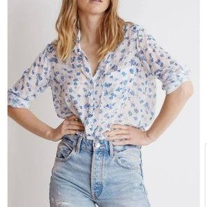 Anthropologie/bella dahl button down long sleev